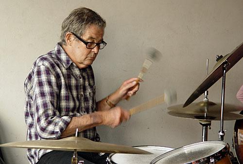 Allan Browne, drums