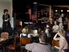 The launch at Uptown Jazz Café
