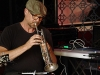 Peter Knight, trumpet and electronic gizmos