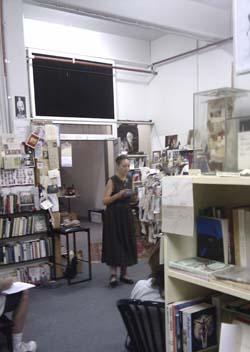 Francesca Sasnaitis reading her poetry