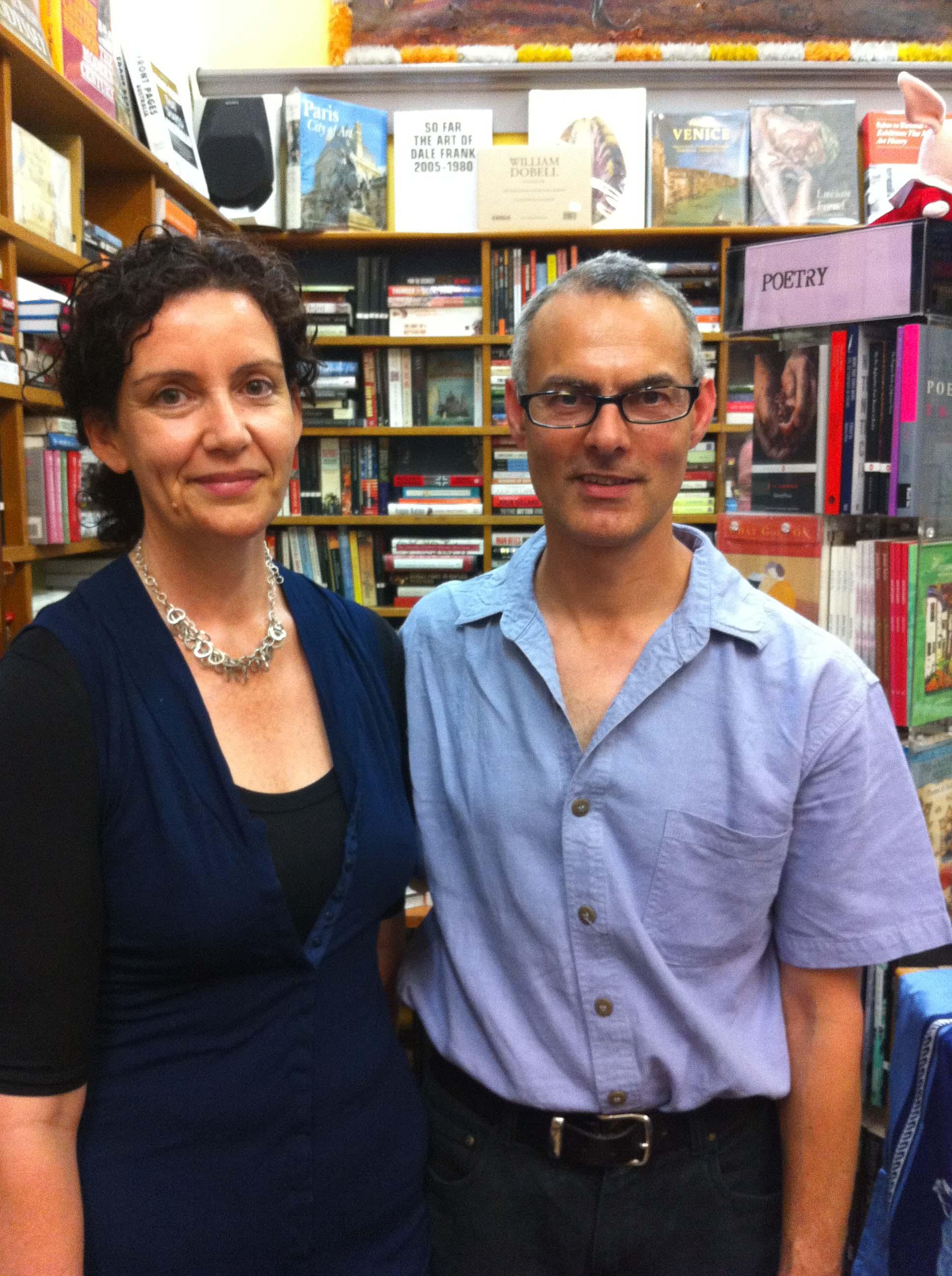 Miriam and Arjun von Caemmerer