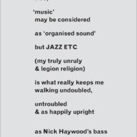 Jazz  postcards 2013