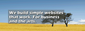 simple business websites that work